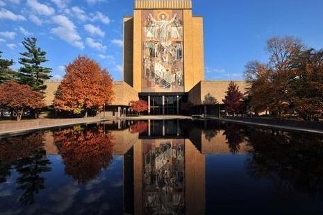 美国前五十强圣母大学