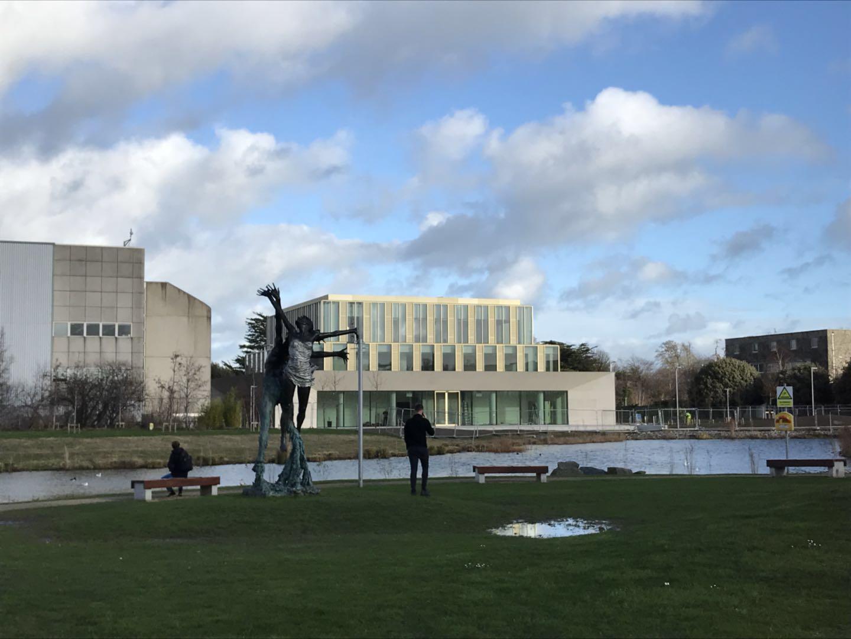 艾迪专家访问爱尔兰名校都柏林大学