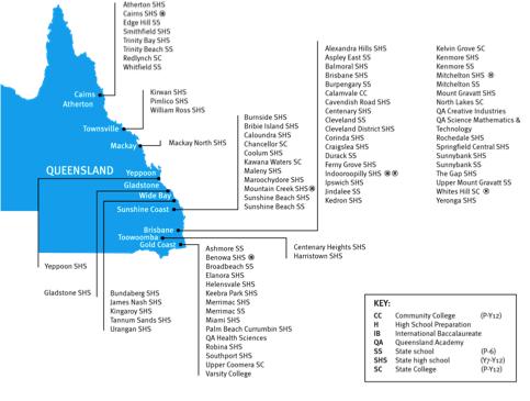 昆士兰州公立中学 EQI 澳洲低龄留学 澳洲中小学留学 艾迪留学
