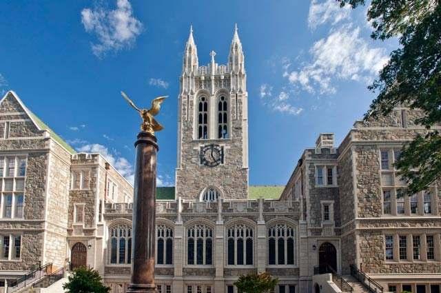 美国前五十强大学波士顿学院