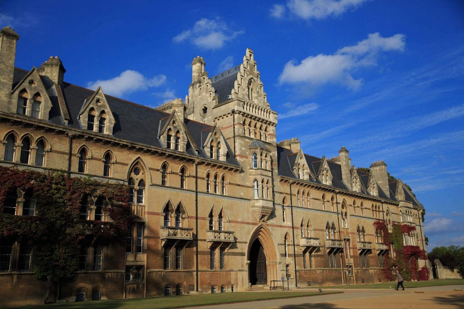 牛津大学英国最具创新力大学