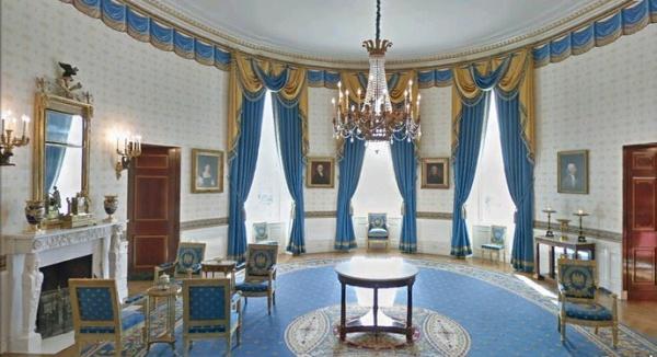 白宫内部的