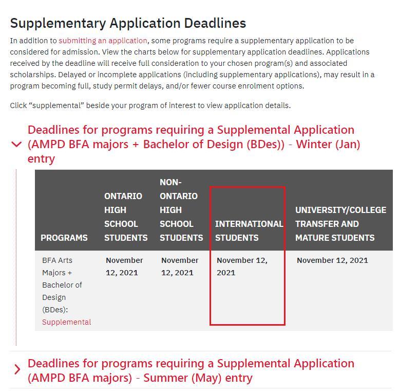 约克大学本科申请日期 加拿大教育中心 加拿大本科申请