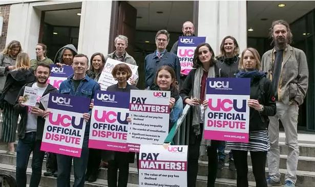 英国61所大学集体罢工