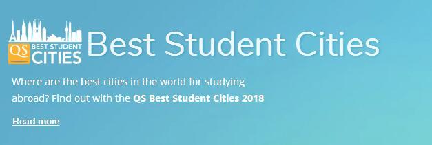 2018年QS全球最佳学生城市排名出炉,这一次伦敦夺冠!
