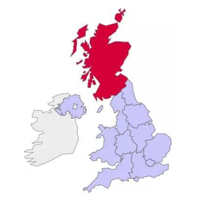 在英国,大学都是这么分布的!