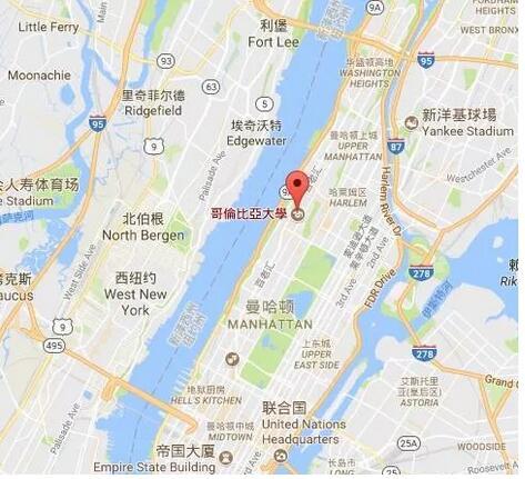 美国选校地图 | 纽约州地理位置优越、名校遍地!