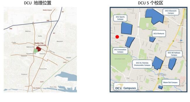 爱尔兰留学,爱尔兰留学申请,爱尔兰大学,都柏林城市大学,DCU