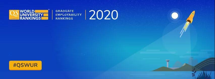 2020QS最新就业排名发布,选校必备的就业参考榜单来了!