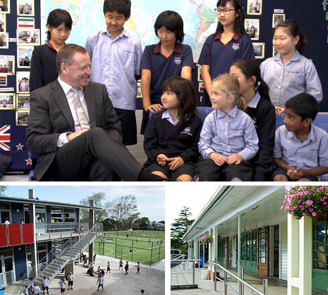 新西兰小学,奥克兰小学,新西兰圣海利斯学校,奥克兰精英小学