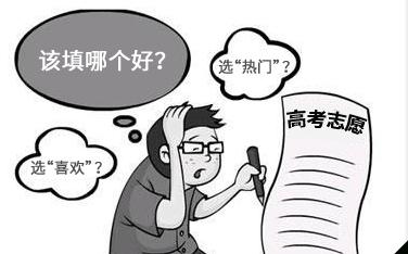 高考填报志愿