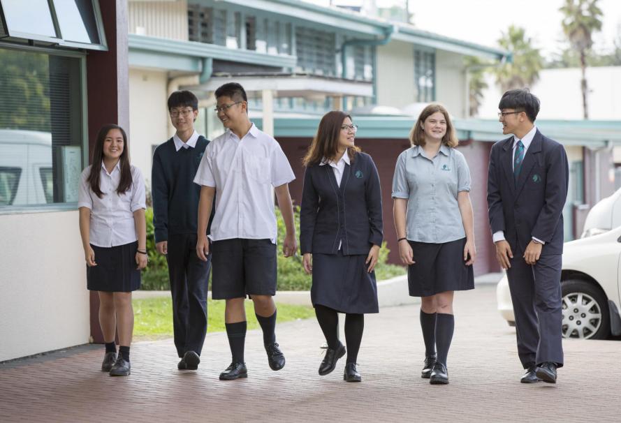 奥克兰中学,Pakuranga College,帕库兰卡中学,新西兰中学